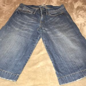 Capri jeans. Wide leg style used few times only